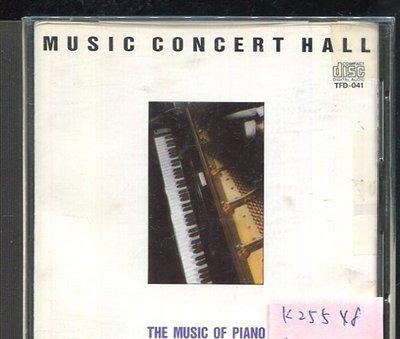 *真音樂* MUSIC CONCERT HALL 二手 K25548 (無IFPI)