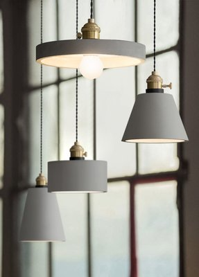 CEMENT A款 D款 美式復古個性咖啡廳燈 創意酒吧台 水泥餐廳單頭小吊燈