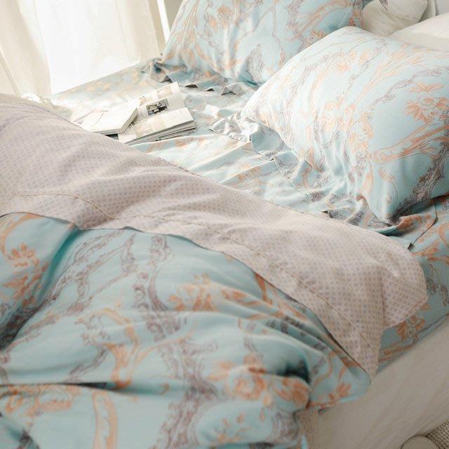MIT 60支天絲-薄床包鋪棉被套組【馬其頓】(加大6尺) -絲薇諾