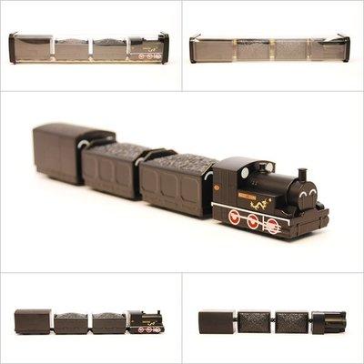 TRAIL 鐵支路 Q版 迴力小列車 龍號機車煤車蓬車 QV022T1