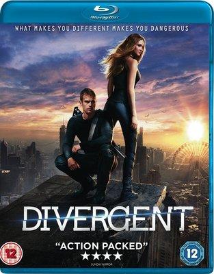 【藍光電影】分歧者/分歧者:異類覺醒 Divergent(2014) 46-005
