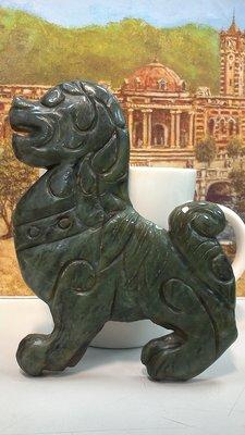 大世紀古董店 民國 鑲嵌件 小狗...