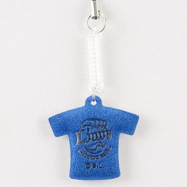 【日職嚴選】日本職棒琦玉西武獅 球衣LOGO手機吊飾 擦拭布 現貨