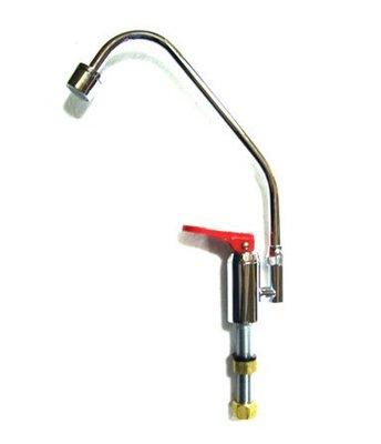 【津豪淨水】 可刷卡 鵝頸龍頭-單熱壓力式/直把手(紅壓板)