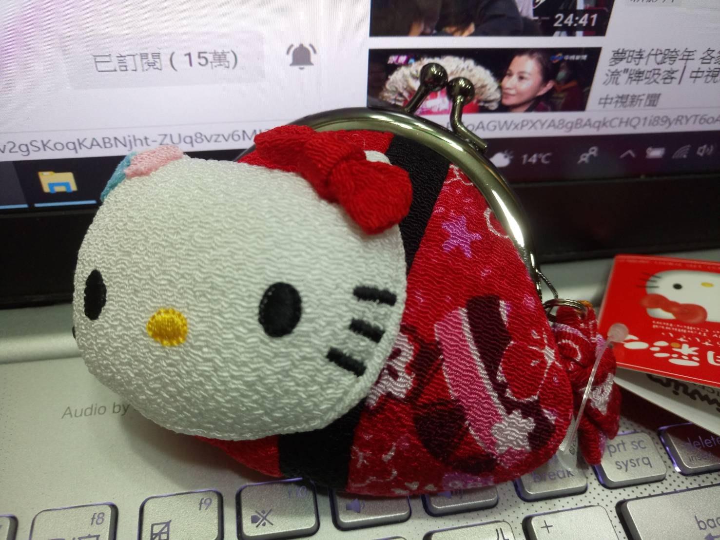 Hello Kitty 葉朗彩彩 日本限定零錢包