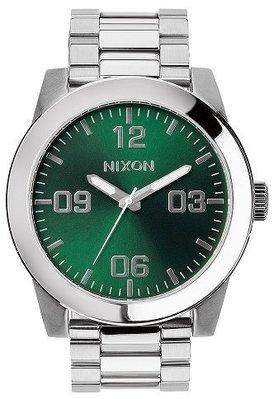 士林手錶專家-NIXON THE CORPORAL SS 曠野風潮腕錶 A346-1696