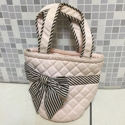 Naraya粉紅色水桶照型提袋/小包