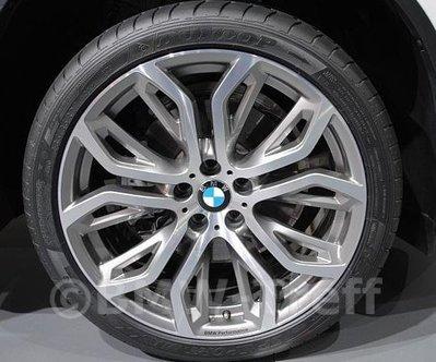 國豐動力 BMW X5 X6 Performance Sty375 21吋 原廠鋁圈 單價