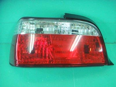 ☆☆☆小傑車燈精品☆☆☆全新外銷超炫寶馬BMW E36-4門 E36-2門款紅白晶鑽尾燈