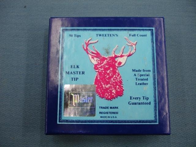 美國 鹿頭牌 藍皮頭 Master 鹿牌皮頭 一盒50個
