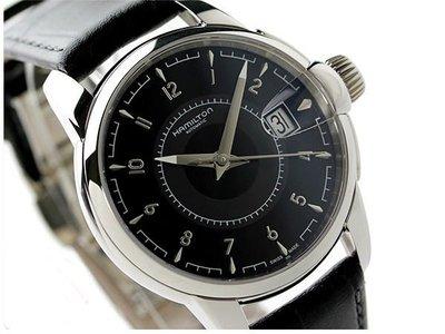 HAMILTON 漢米爾頓 手錶 機械錶 38mm 鐵道 皮帶 H40415735