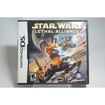[耀西]二手 美版 任天堂 DS NDS 星際大戰:決死聯盟 STAR WARS LETHAL ALLIANCE