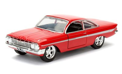 (I LOVE 樂多) 日本進口 玩命關頭8 JADA DOM'S CHEVY IMPALA  1:24 合金模型車