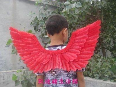 【凱迪豬生活館】cos 天使翅膀兒童款式 生日聚會禮物 演出表演 羽毛大號道具KTZ-200876