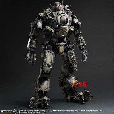 【南部總代理】Play arts改 神兵泰坦 Atlas 均衡型機甲 26cm 港 Titanfall 閃電俠 繩鬼卡塔