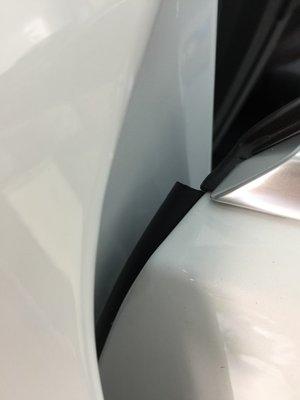 (小鳥的店)寶馬 BMW 2020 118i A柱隔音條+B柱隔音條+C柱隔音條套裝 風切聲 靜音 隔音