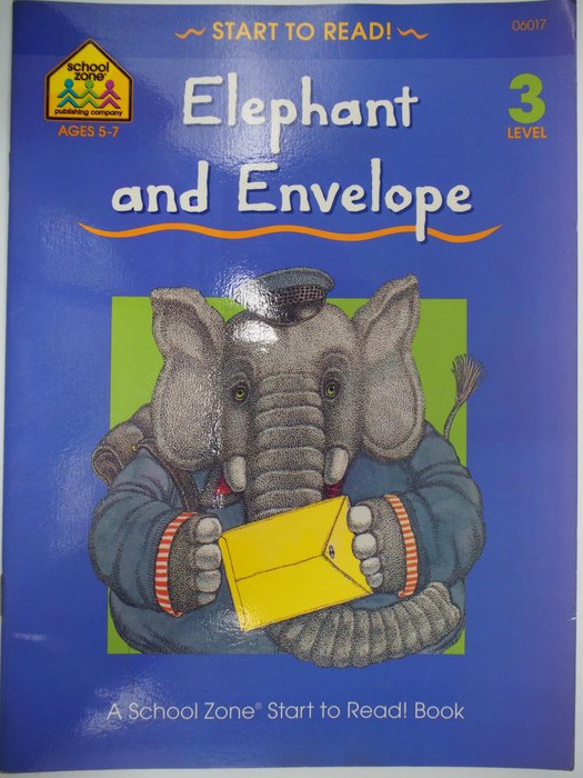 【月界】Elephant and Envelope-LV. 3_Barbara Gregorich 〖語言學習〗AKT