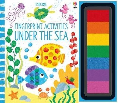 全新商品 Fingerprint Activities Under the Sea (指印遊戲書)