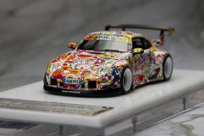 Timothy & Pierre 1/64 Porsche RWB 993 村上隆 太陽花