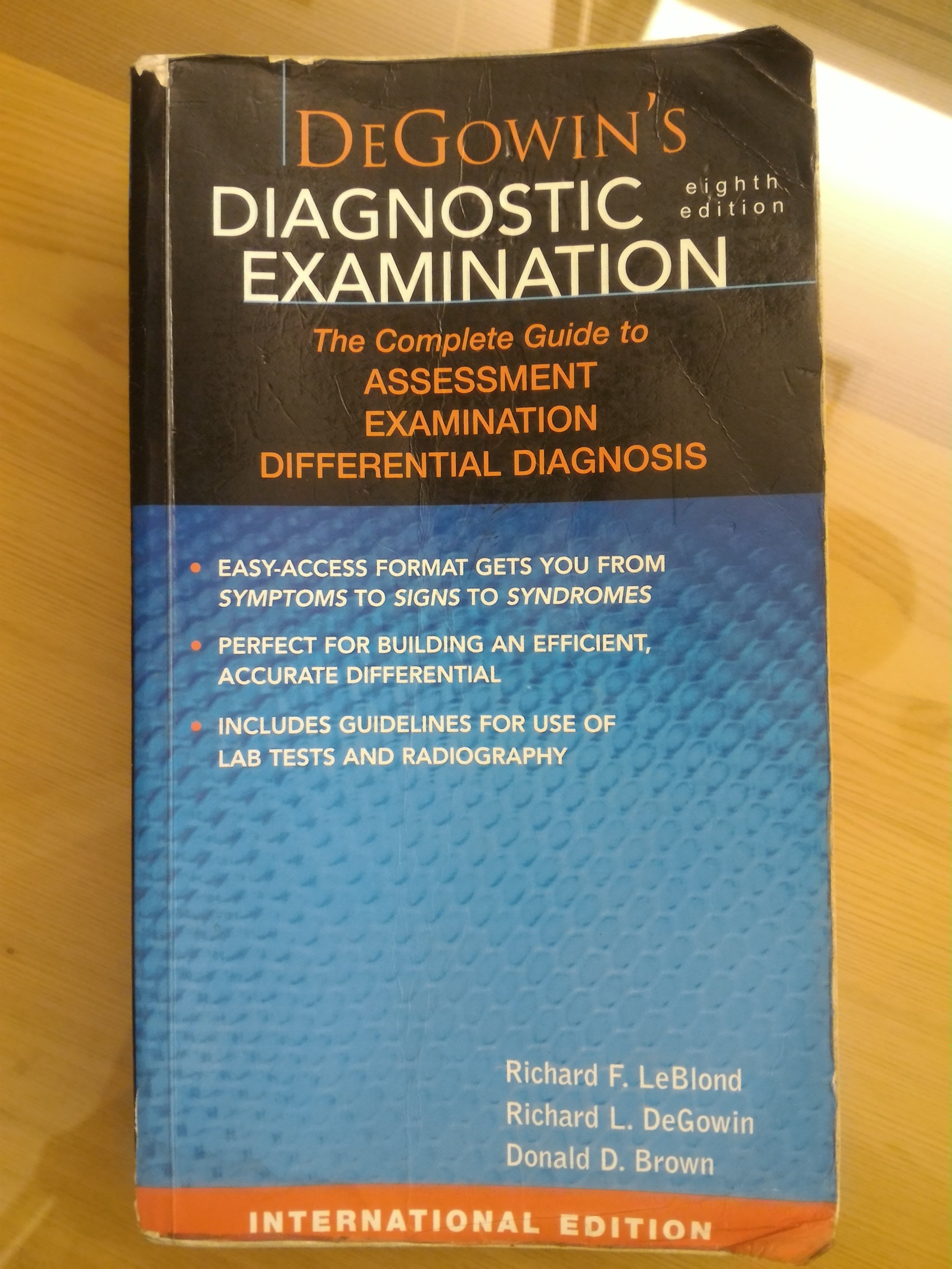 二手 書 Degowins Diagnostic Examination 醫學科相關書 原文書