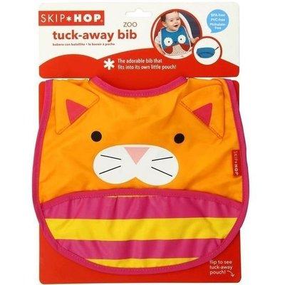 美國 Skip*Hop Zoo Bib - Shark 寶寶動物圍兜 防水防臭圍兜 - 貓咪