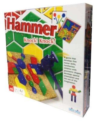 【陽光桌遊世界】Hammer Knock Knock 不敲不成器 德國桌上遊戲 Board Game