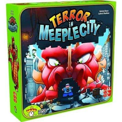 【陽光桌遊世界】 暴走彈彈獸 Terror In Meeple City (Rampage) 德國桌上遊戲