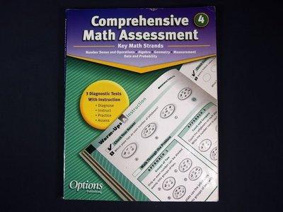 【考試院二手書】《Comprehensive Math Assessment 4》│options publishing│七~八成新(11F22)