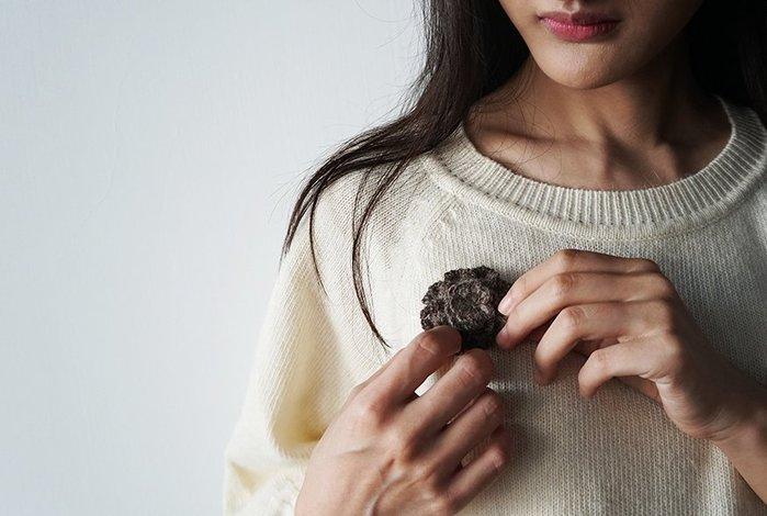 日本 Lino e Lina 自然系 天然毛色 baby alpac 羊駝 花型 手工 優雅 大人色 別針 胸針