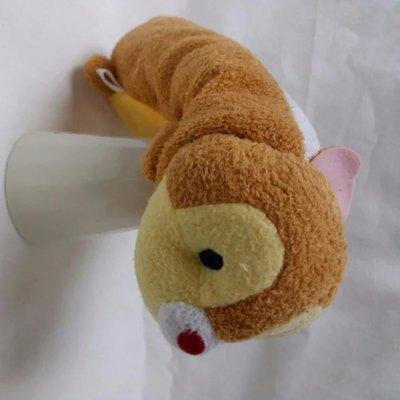 觀塘實店 ~ HK$10/1個 ~ 全新可愛手感柔軟松鼠毛毛公仔 筆袋 化妝袋
