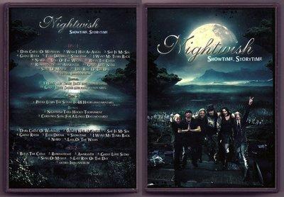音樂居士#夜愿迷月之夜2013現場 Nightwish Showtime Storytime (2+2CD) DVD