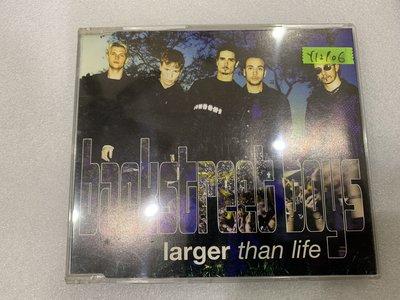*還有唱片行*BACKSTREET BOYS / LARGER THAN LIFE 二手 Y12906
