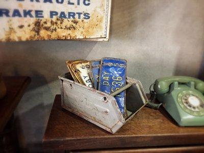 //ORI DECO工業風// 德國  小工具箱 工具疊箱 鐵製 小型好用