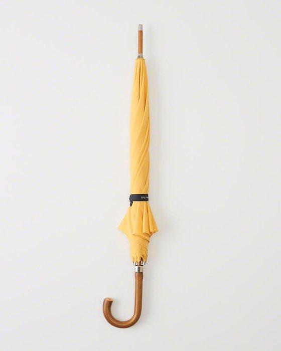 美國百分百【全新真品】Abercrombie & Fitch 雨傘 AF 直立傘 雨具 麋鹿 素面 黃色 H722