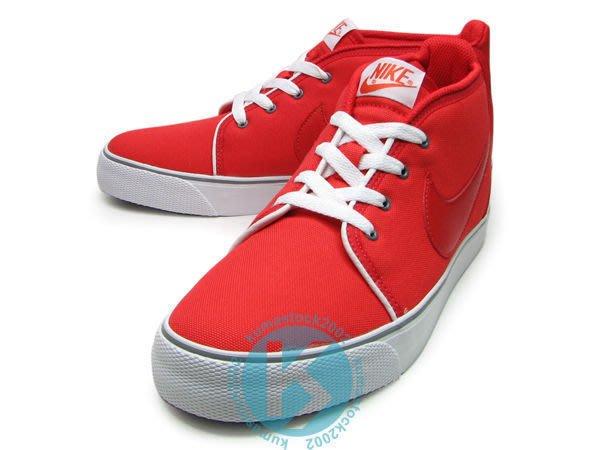 kumastock 均一價特賣$1499含運 西岸硬派風格 NIKE TOKI ND 紅白 帆布鞋面 街頭潮流