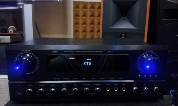 ABC內建動態擴展器擴大機 A-1聲音一級棒保證台灣最棒的音色350瓦大功率聽音樂音質真棒推薦板橋音響店在哪找台北市音響
