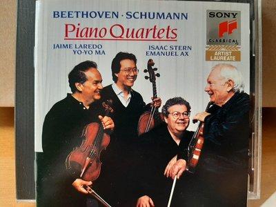 Ax,Stern,Laredo,Ma,Beethoven/Schumann-P.quartets,艾克斯鋼琴,史坦/拉雷多/馬友友-小/中/大提琴,演繹貝多芬…