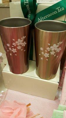 新春價....日本 Afternoon Tea 不銹鋼對杯