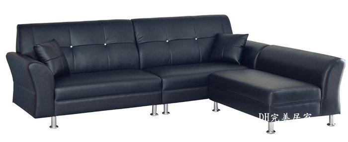 【DH】KH34-10雙仔星沙發組椅,簡雅高貴設計。可左右擺飾。台灣製,可定製尺寸。顏色~另計。