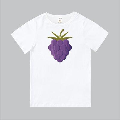 T365 MIT 親子裝 T恤 童裝 情侶裝 T-shirt 短T 水果 FRUIT 葡萄 grape