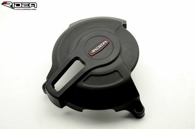 LFM-Scrambler碳纖維護蓋~RIDEA碳纖維引擎護蓋~二件式引擎防摔面蓋~適用:Ducati Scramble