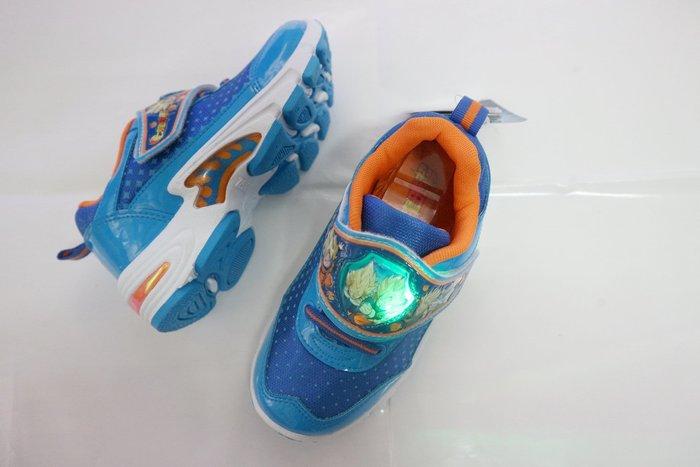 409~七龍珠~兒童電燈運動鞋 舒適抗菌防臭 男童鞋18-22.5藍【70386】~