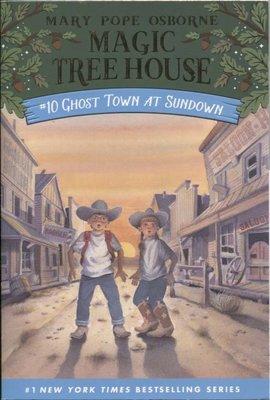 Blue書屋|新書/神奇樹屋原文小說:Ghost Town at Sundown/Random House/滿五本免運費
