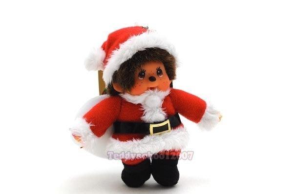 ☆╮泰迪學園╭☆ 日本Sekiguchi 歡慶耶誕 MONCHHICHI【耶誕夢奇奇吊飾】