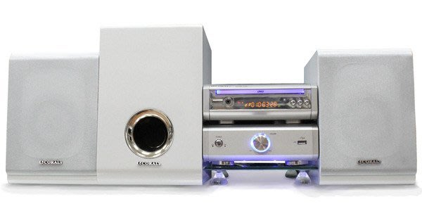 [福利品] CORAL 2.1聲道DVD/USB音響組合(DVM-736)加贈音響專用玻璃基座