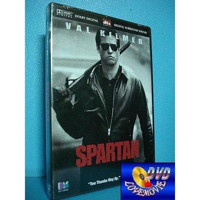 三區正版【斯巴達人Spartan(2004)】DTS版DVD全新未拆《神鬼至尊、真情難捨:方基墨》