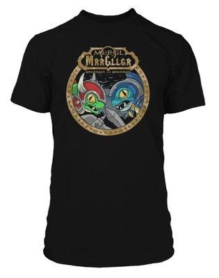 【丹】JINX_WORLD OF WARCRAFT MURLOC FACE OFF PREMIUM 魔獸世界 莫奇 T恤