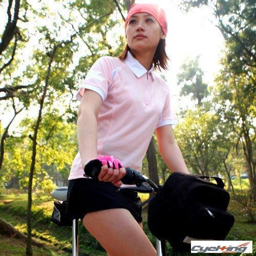 【星生活百貨】Cycl+ing 04 女用單車休閒服 自行車車衣 女POLO衫 (台灣製) - 果綠