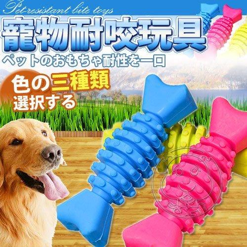 【🐱🐶培菓寵物48H出貨🐰🐹】可塞零食》無毒橡膠益智按摩玩具‧12cm  特價69元