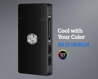 『高雄程傑電腦』CoolerMaster MFY-RCSNNNUDK-R1 RGB LED 控制器 現貨免運【實體店家】